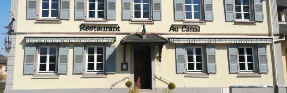 Restaurant Du Canal Ergersheim Menu